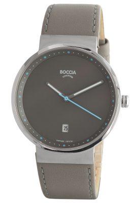 Boccia 3615-03 Titan-Armbanduhr mit Saphirglas