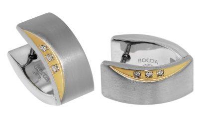 Boccia 05002-04 Titan Ohrringe Scharnier-Creolen
