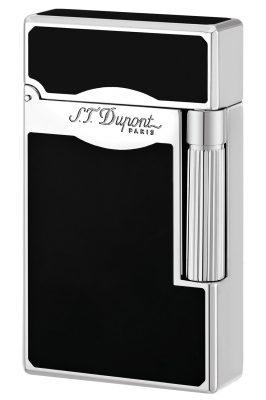 S.T. Dupont 023010 Feuerzeug Le Grand Chinalack Schwarz