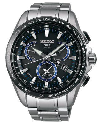 Seiko SSE101J1 Astron GPS Solar Dual Time Herrenuhr