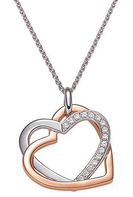 774752 Damen-Halskette mit Herz-Anhänger