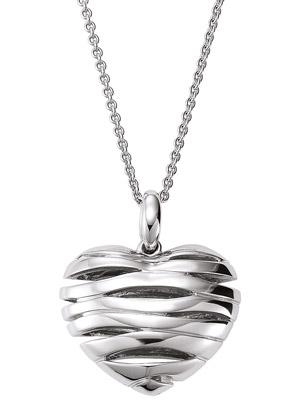 777032 Silber Damen-Halskette mit Herz-Anhänger