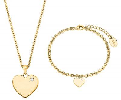 s.Oliver 2027003 Geschenkset Kette und Armband für Damen