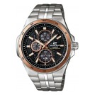 Casio EF-340SB-1A5VEF Edifice Herren-Solaruhr