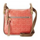 Fossil ZB5604 Key-Per Crossbody Handtasche Tomatenrot