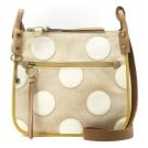 Fossil ZB5610 Key-Per Crossbody Ladies Handbag Bone