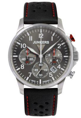 Junkers 6874-2 Tante Ju Herrenuhr Chronograph