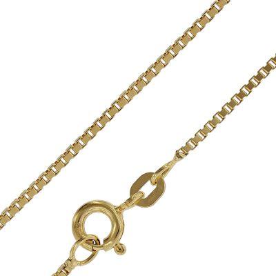 trendor 50873 Goldkette für Damen und Herren Venezianer Kette 585 Gold
