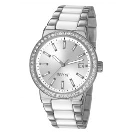 Esprit ES106052002 Feather Ceramic White Ladies Watch