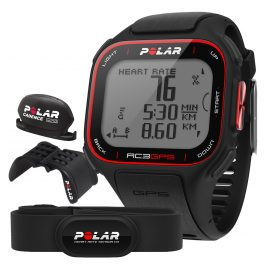 Polar RC3 GPS Bike Black Multisport Trainingscomputer