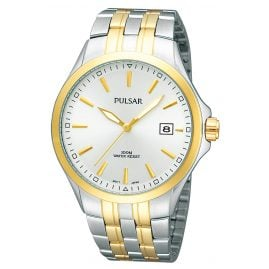 Pulsar PS9084 Two-Colour Mens Watch