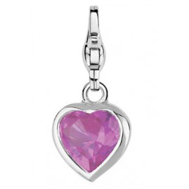 Ti Sento 8089RT Stylish Heart Pink Charm-Anhänger