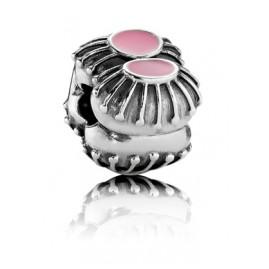 Pandora 790578EN24 Clip-Element Rosa Emaille