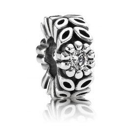 Pandora 791224CZ Silber Zwischenelement Kleine Blättchen