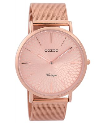 Oozoo C9343 Damen-Armbanduhr Vintage Rosé 40 mm