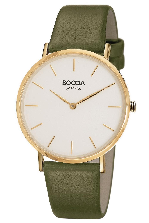 bei Uhrcenter: Boccia 3273-05 Titan Damenuhr Goldfarben - Damenuhr