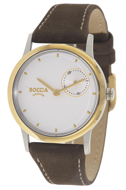bei Uhrcenter: Boccia 3274-02 Damenuhr aus Titan - Damenuhr