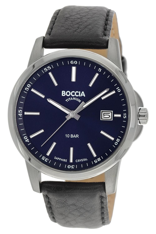 Boccia 3633-01 Titan Herrenuhr