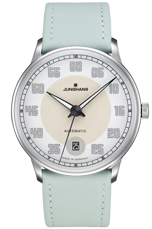bei Uhrcenter: Junghans 027/4717.00 Damenuhr Meister Driver Automatic Lindgrün - Damenuhr