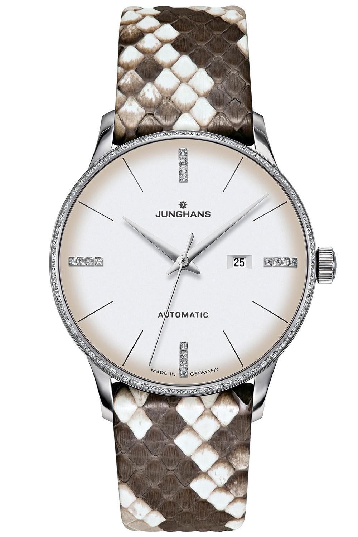 bei Uhrcenter: Junghans 027/4847.00 Meister Automatic Damenuhr - Damenuhr
