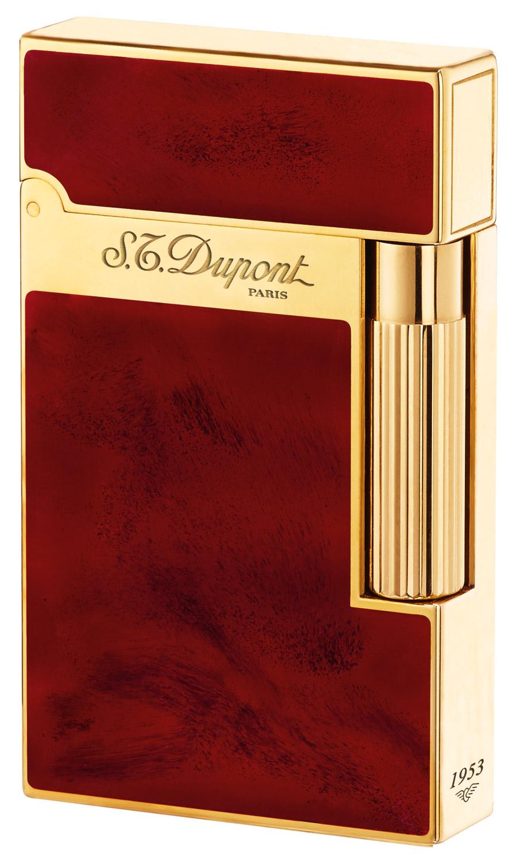 S.T. Dupont 016133 Feuerzeug Linie 2 Laque Rouge