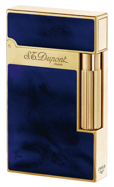 S.T. Dupont 016134 Feuerzeug Linie 2 Laque Bleue