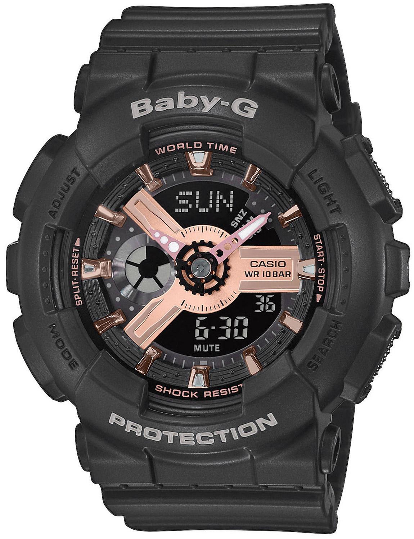 bei Uhrcenter: Casio BA-110RG-1AER Baby-G Damenuhr - Damenuhr