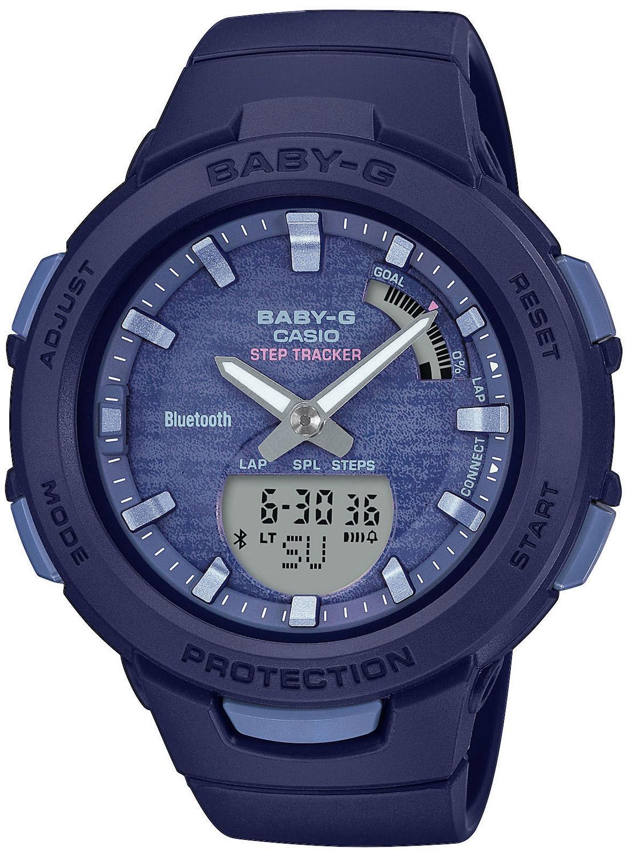bei Uhrcenter: Casio BSA-B100AC-2AER Baby-G Damenuhr mit Schrittzähler - Damenuhr