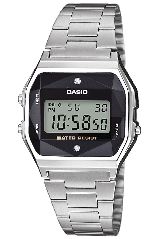 bei Uhrcenter: Casio A158WEAD-1EF Vintage Damenuhr - Damenuhr