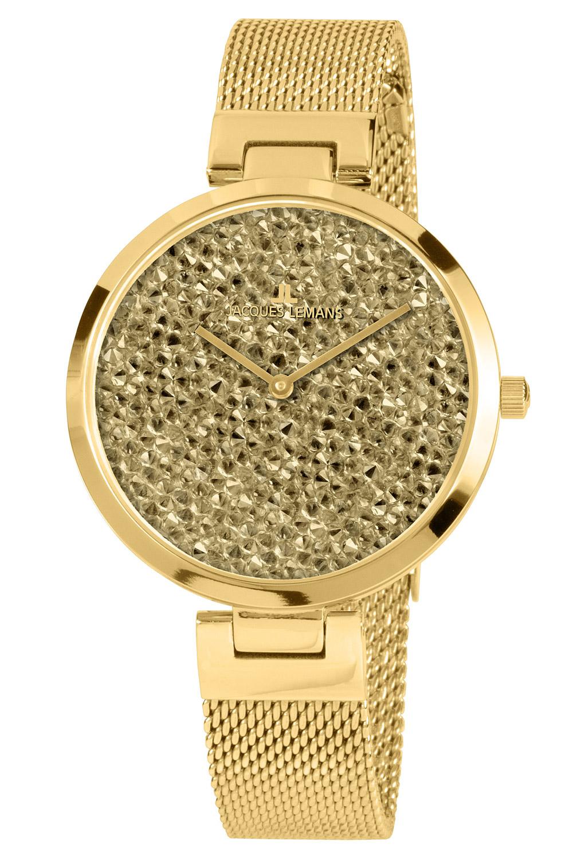 bei Uhrcenter: Jacques Lemans 1-2035K Damenuhr Milano - Damenuhr