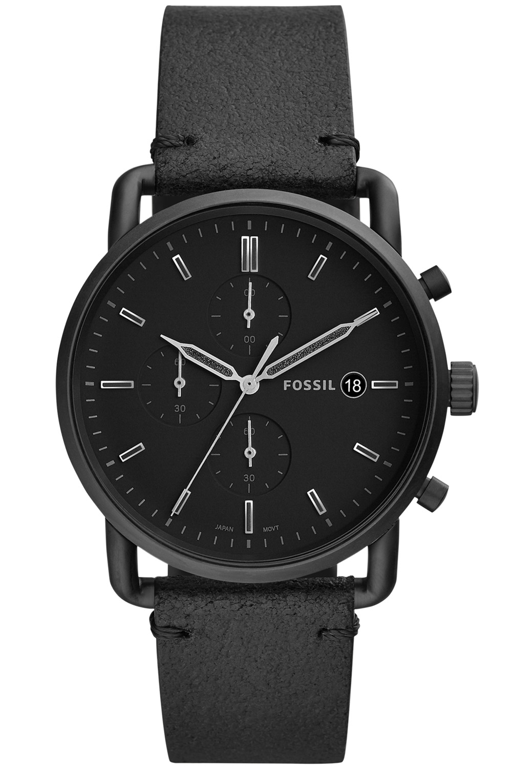 Fossil FS5504 Herrenuhr Chronograph The Commuter
