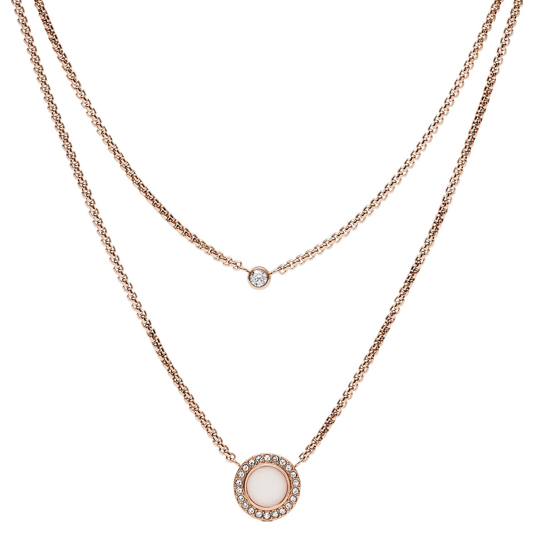 bei Uhrcenter: Fossil JF03057791 Damen-Halskette Classics - Schmuck
