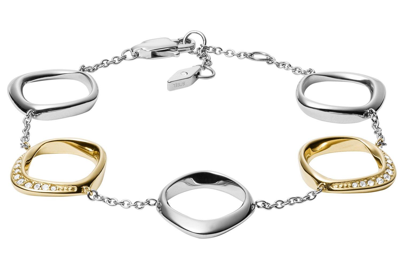 bei Uhrcenter: Fossil JF03201998 Damen-Armband Twisted - Schmuck