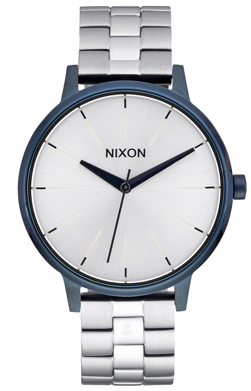 bei Uhrcenter: Nixon A099 1849 Kensington Navy/Silver Damenuhr - Damenuhr
