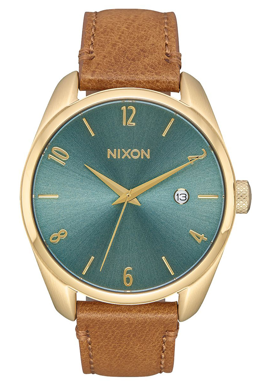 bei Uhrcenter: Nixon A473 2626 Damenuhr Bullet Leather Light Gold - Damenuhr
