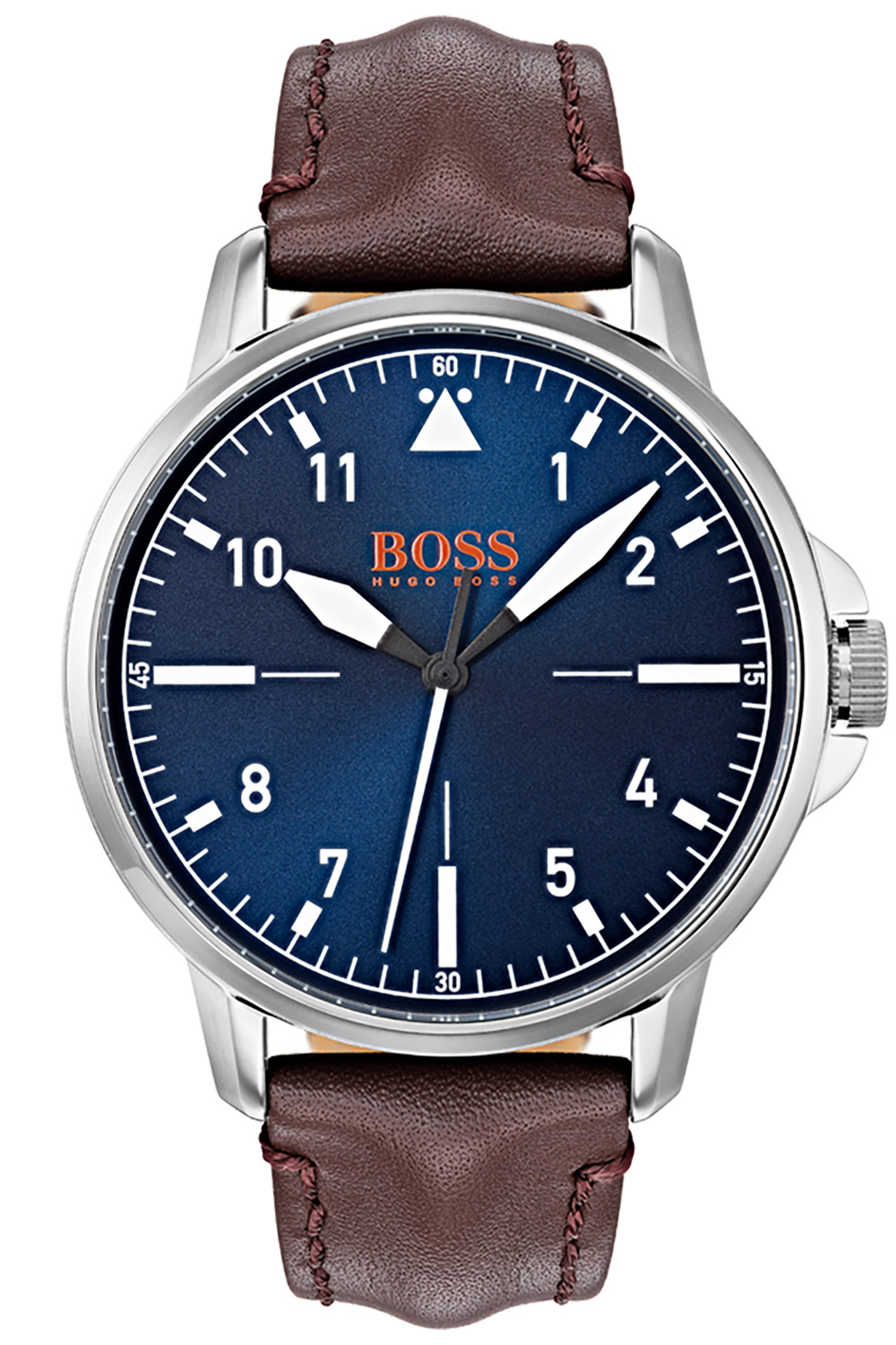 Boss 1550060 Herrenarmbanduhr Chicago Blau/Braun