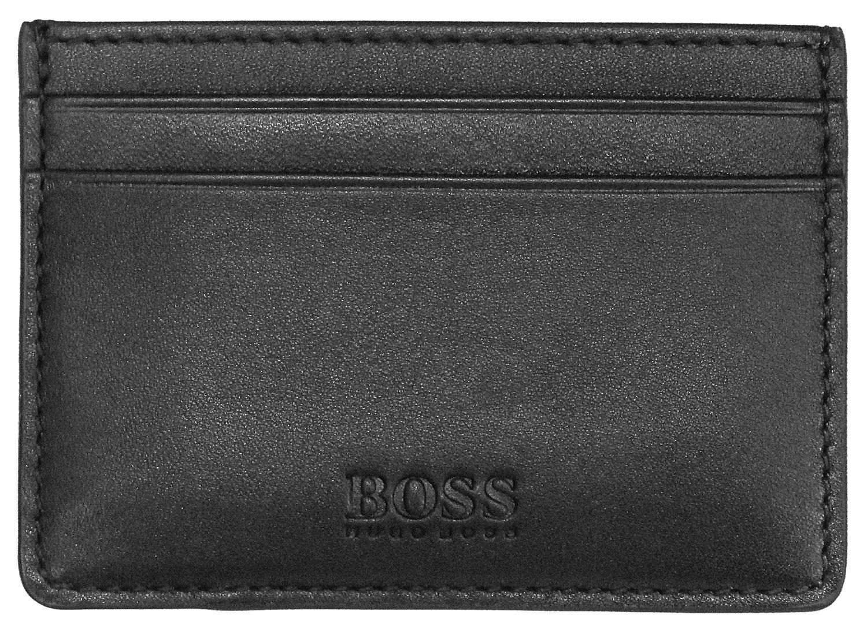 Boss 50397487 Kreditkarten-Etui Majestic Schwarz