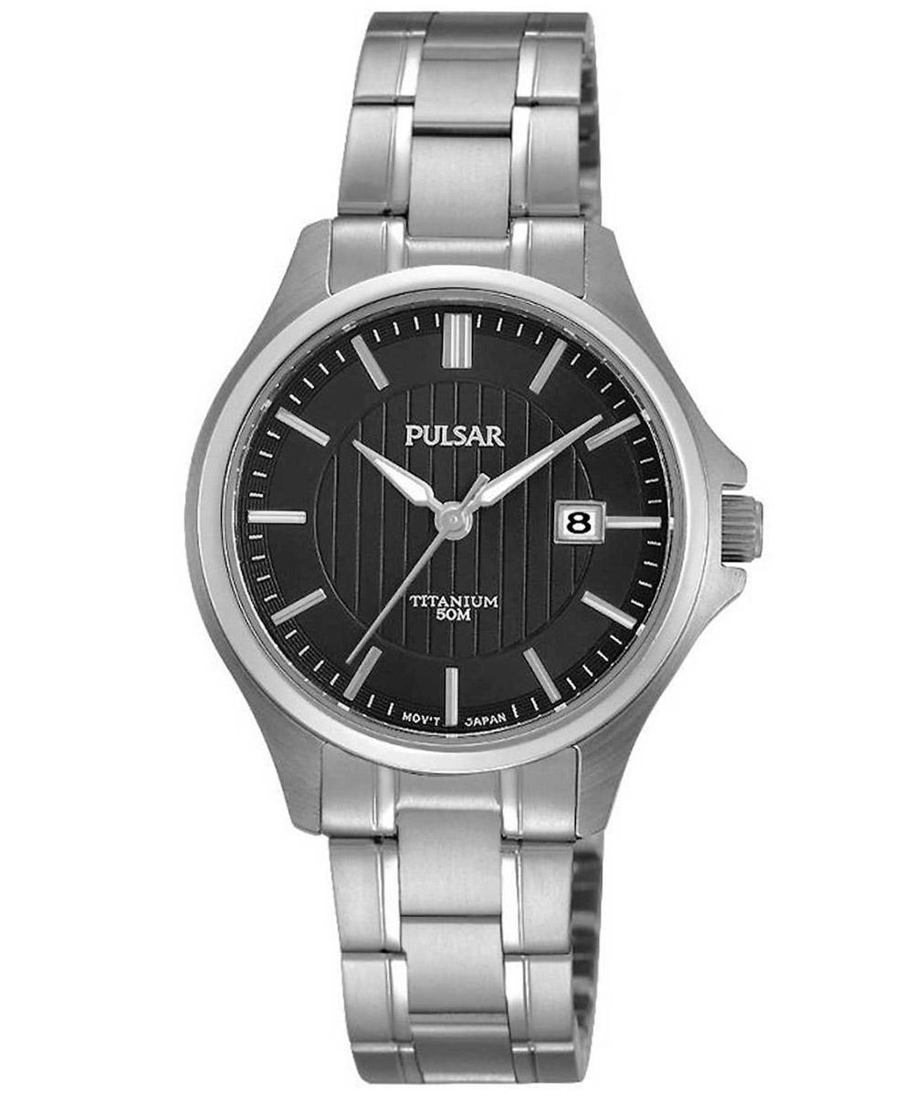 bei Uhrcenter: Pulsar PH7437X1 Titan Damenuhr - Damenuhr