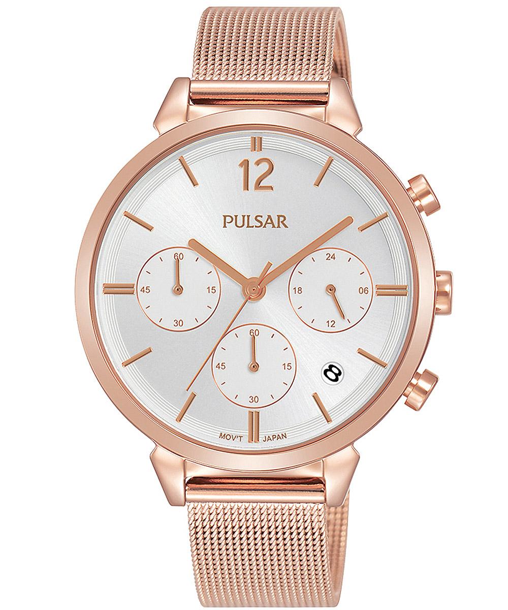 bei Uhrcenter: Pulsar PT3944X1 Damenuhr Chronograph Attitude - Damenuhr