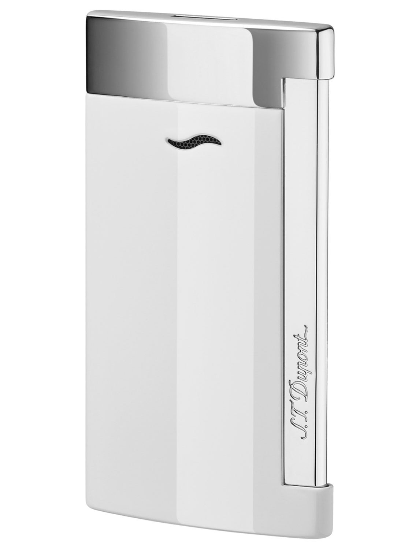 S.T. Dupont 027702 Feuerzeug Slim 7 Weiß