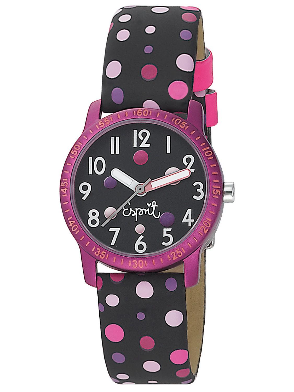 Esprit kids watches es103524007 funky dots black girls watch set