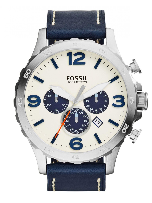 jr1480 nate chronograph herrenuhr von fossil online kaufen armbanduhrenhaus. Black Bedroom Furniture Sets. Home Design Ideas