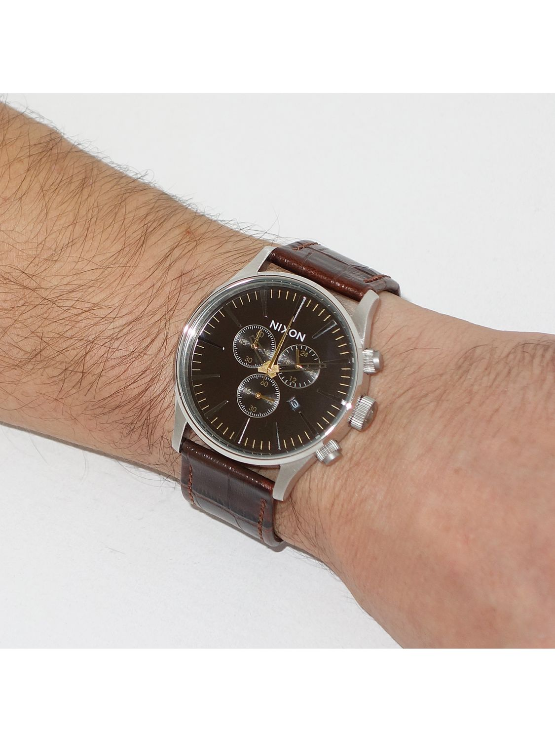 Nixon The Sentry 38 Leather - Zappos.com Free Shipping BOTH Ways