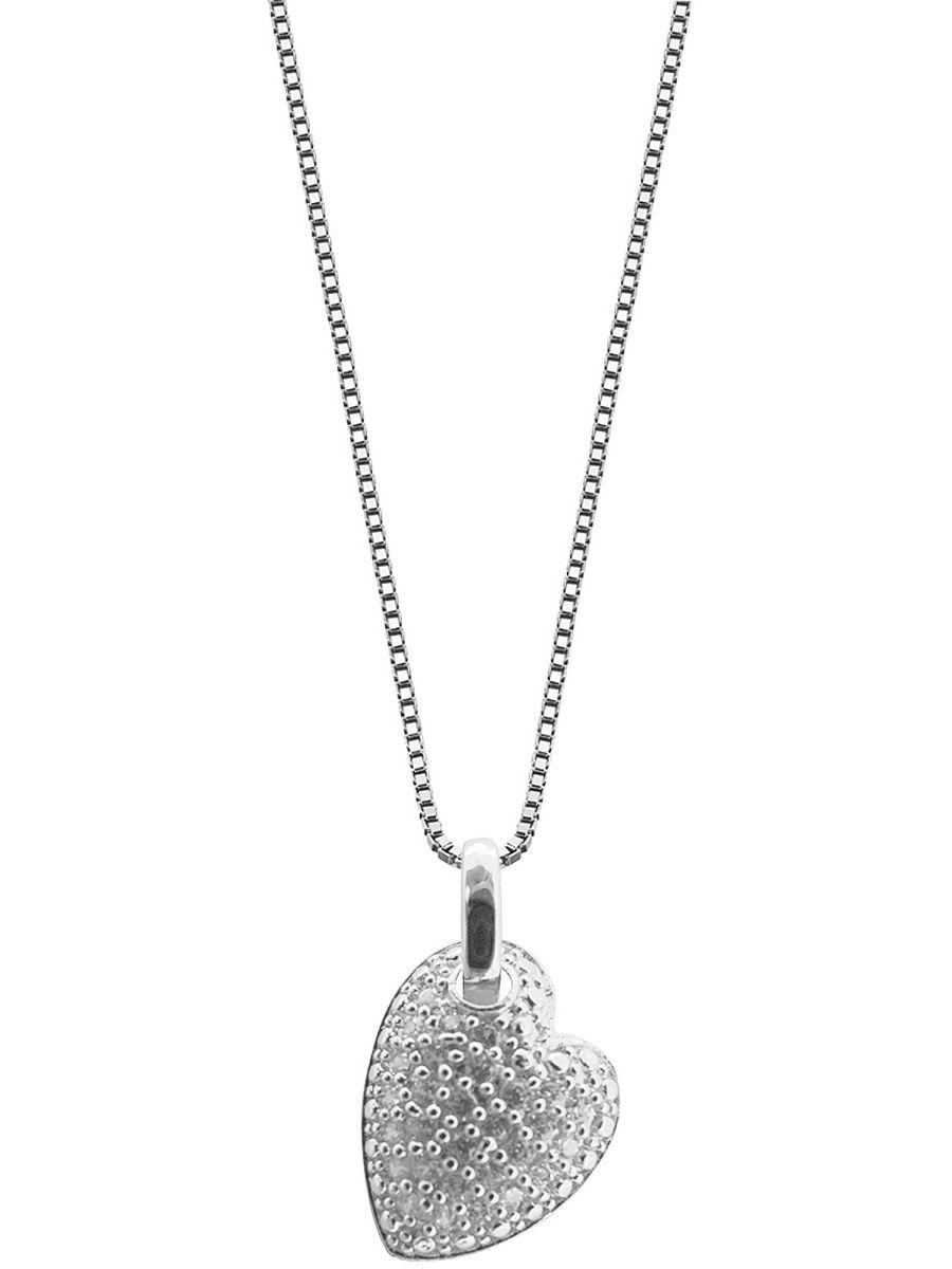 trendor 48757 Silber Herz-Anhänger mit Kette Preisvergleich