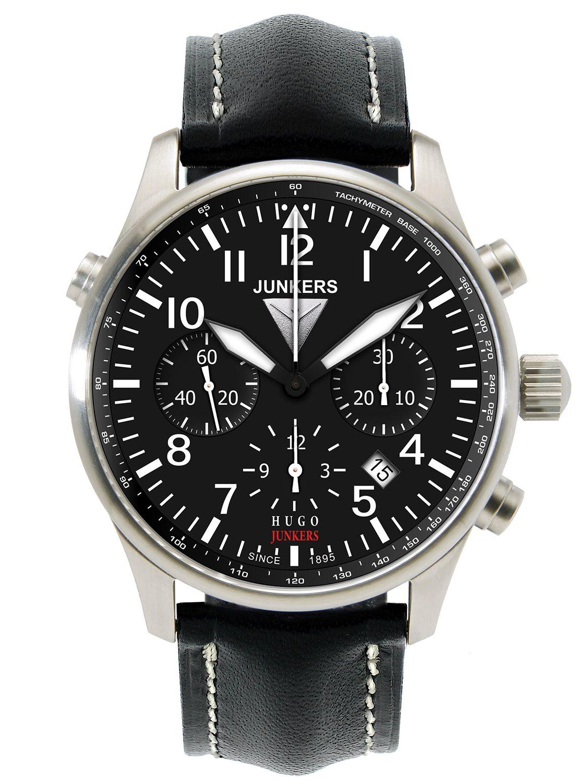 Junkers 6628-2 Automatik-Chronograph Herrenuhr