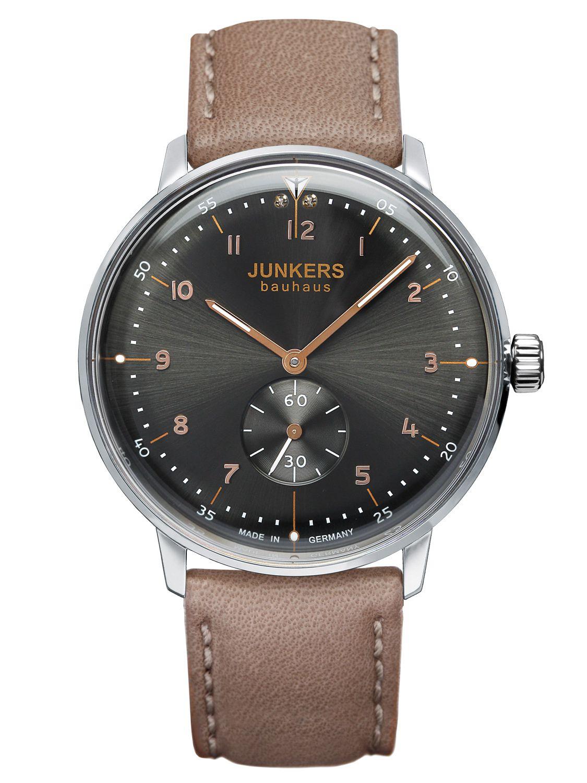 Junkers 6035-2 Damen-Armbanduhr Bauhaus Lady
