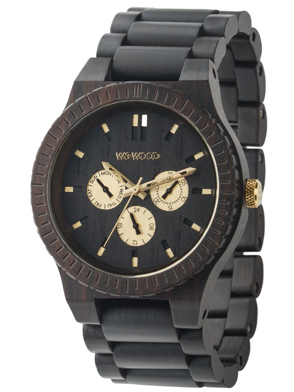 WeWood WW15008 Kappa Black RO Herrenuhr - Limit...