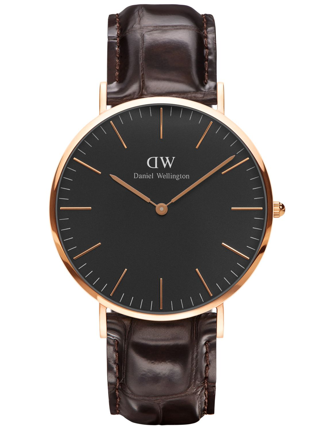 Daniel Wellington DW00100128 Herrenuhr York Ros...