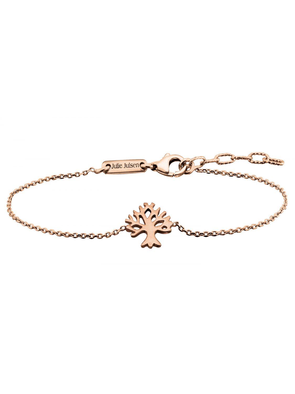 Julie Julsen JJBR9674.2 Damen-Armband Lebensbaum Rosé