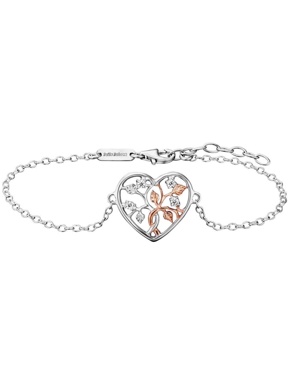 Julie Julsen JJBR0505.8 Damen-Armband Lebensbaum Herz